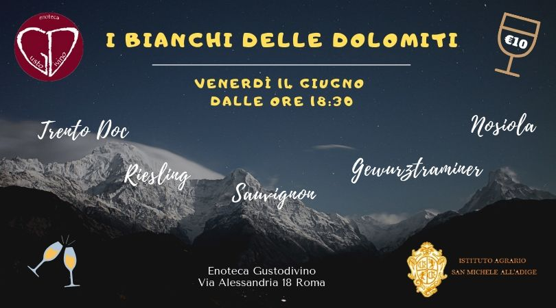 I vini delle Dolomiti