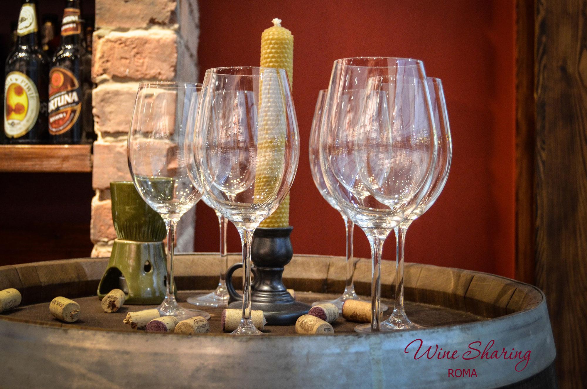 Bollicine al Wine Sharing Roma